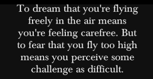 flying dream meaning