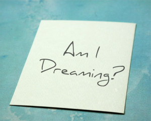 lucid dreaming tip - reality check