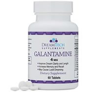 Increase acetylcholine levels for lucid dreaming with galantamine