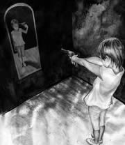 Even scary lucid dreams happen within your own mind