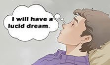 Set a lucid dreaming intention