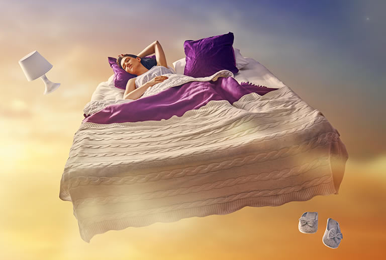 Lucid dreaming affects the real world