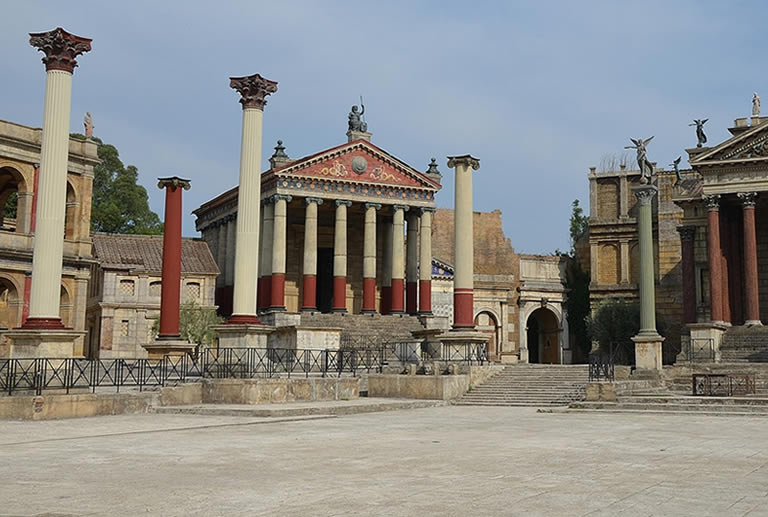 Visiting ancient Rome in lucid dream