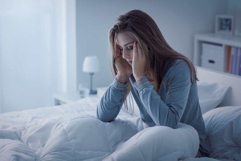 Woman after lucid dreaming too much